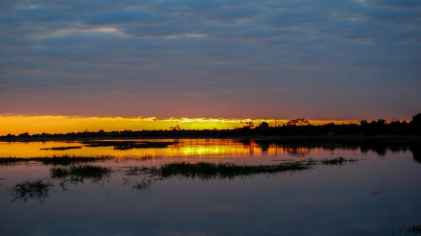 Sunset - Botswana Safari Tours