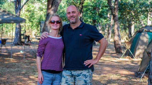Guests on a tour - Botswana Safari Tours