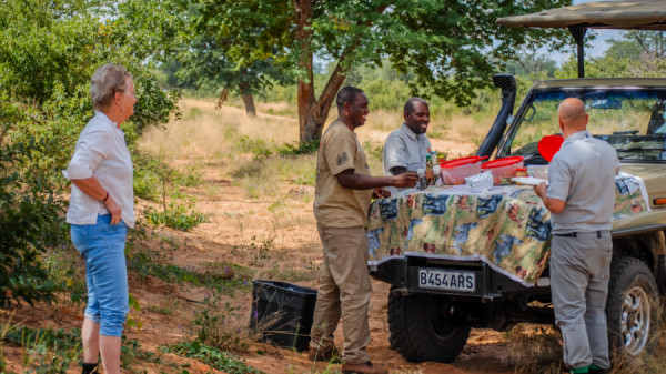 Lunch break - Botswana Safari tours