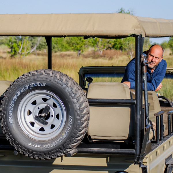 4 by 4 Safari Jeep - Botswana Safari Tours
