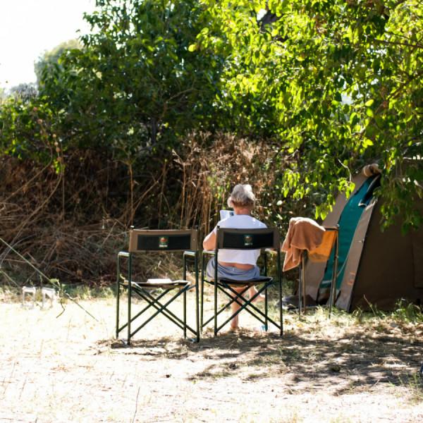 Campsite - Botswana Safari Tours